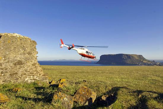Tall Timbers Tasmania: Discover the North-West with a Helicopter Tour