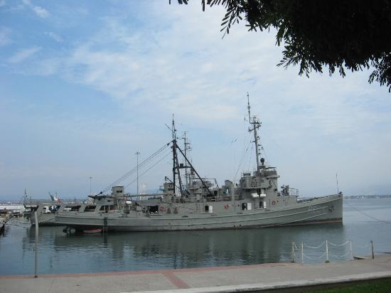 Gran Festivall All Inclusive Resort: navy ship in harbour