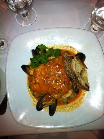 Maria Pia: seafood stew