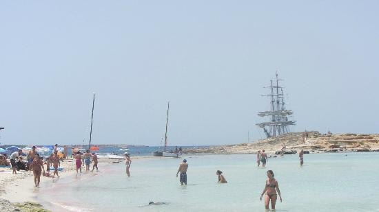 Strand Playa de ses Illetes: Alucinante playa