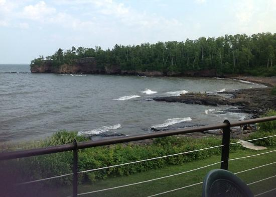 Superior Shores Resort: View from our balcony - Lakehome