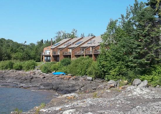 Superior Shores Resort: View of the Lakehomes at Superior Shores