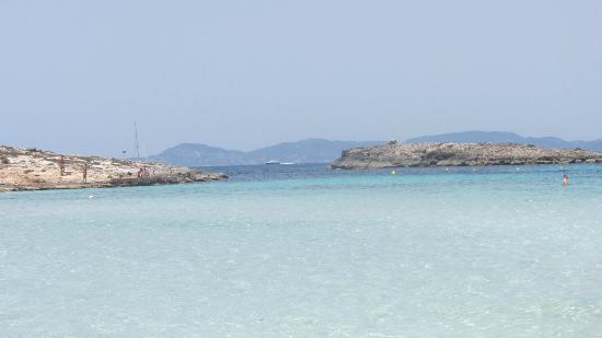 Playa de Ses Illetes: El agua es maravillosa