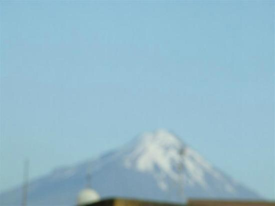 Hawera Central Motor Lodge : Mt Taranaki from upper deck