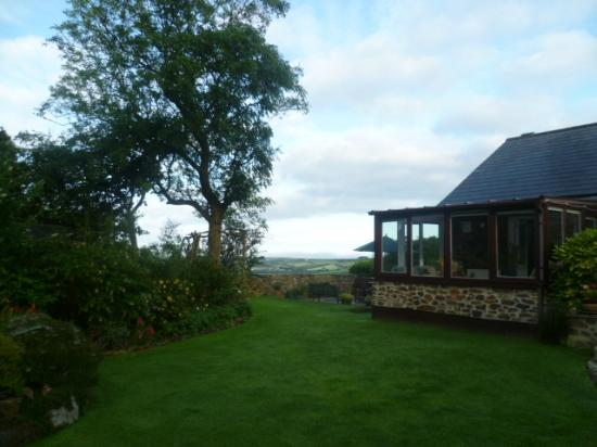 Goonearl Cottage Guest House: Early morning view