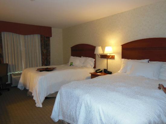 Hampton Inn & Suites Pocatello: queen beds