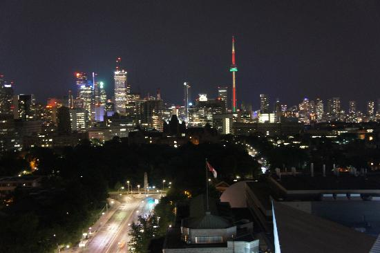 Park Hyatt Toronto: View from rooftop bar