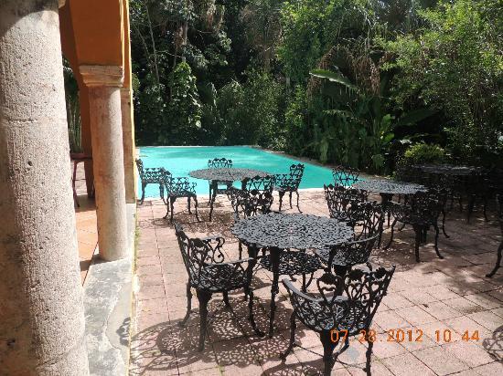 Hacienda Misne: Pool
