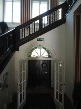 Villa Trapp entrance hall.