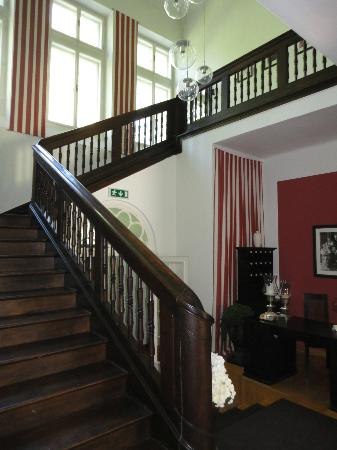 Villa Trapp: Staircase to first floor.