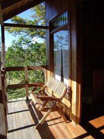 Cabanas Valle Campanas: Balcony in El Tucan