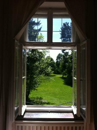 Villa Trapp: View from the Maria Suite sitting room.