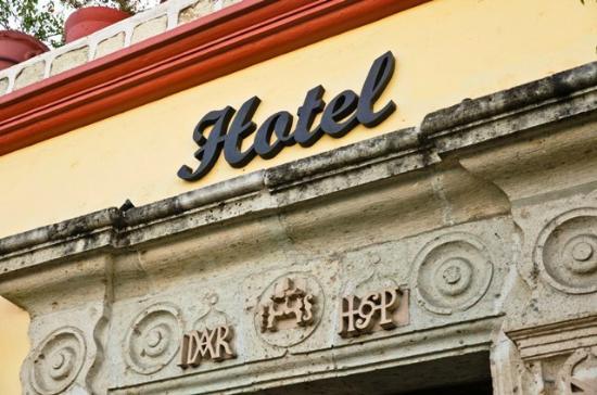 Hotel Oaxaca Real: Fachada Oaxaca Real