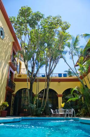 Hotel Oaxaca Real: Alberca Oaxaca Real