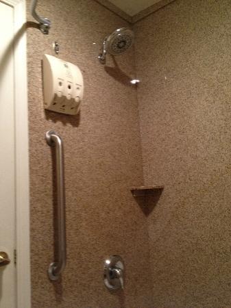 Shower w/ Dispensers
