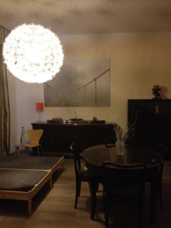 Residence Pinkas Old Town: living room apt 8