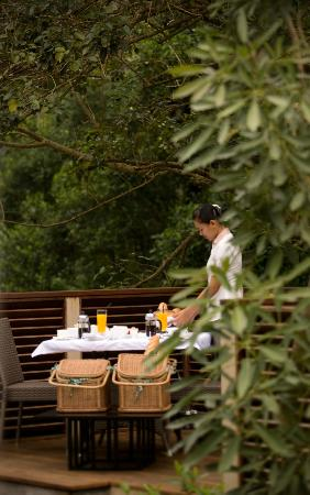 The Samaya Bali Ubud: Breakfast is served