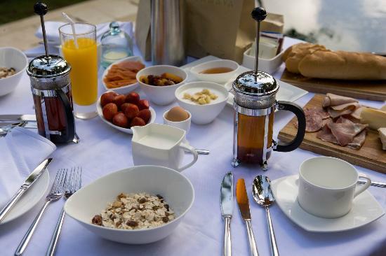 The Samaya Bali Ubud: Continental Breakfast