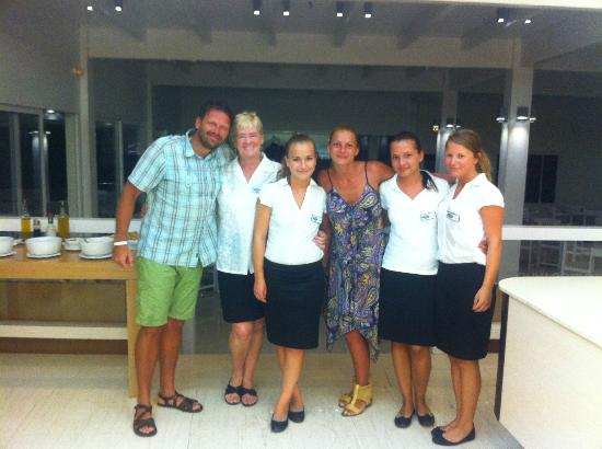 Lindos White Hotel and Suites: We, with the best staff which know it!!!