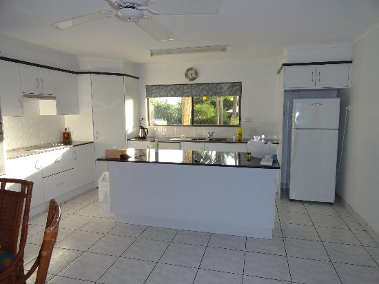 Roydon Beachfront Apartments : kitchen