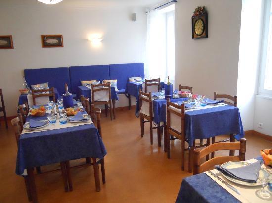 Hotel ANTOINE : salle a manger