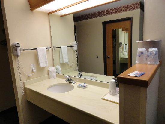Best Western Plus Vancouver Mall Drive Hotel and Suites: Sink separate from shower & toilet
