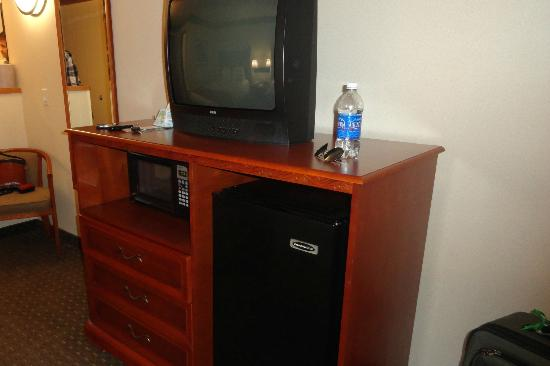 BEST WESTERN PLUS Vancouver Mall Dr. Hotel & Suites: TV a bit outdated