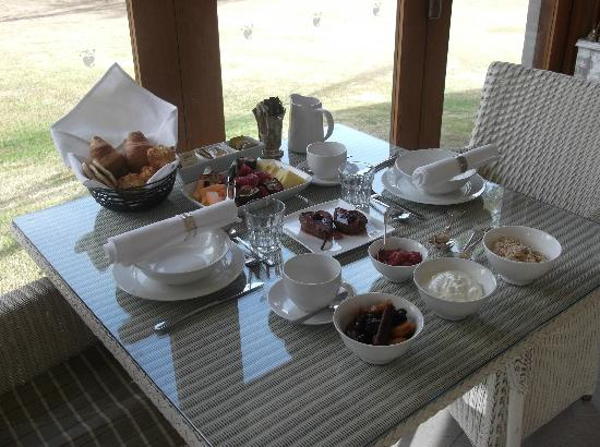 Thistle Hill Guest House: Wonderful breakfasts