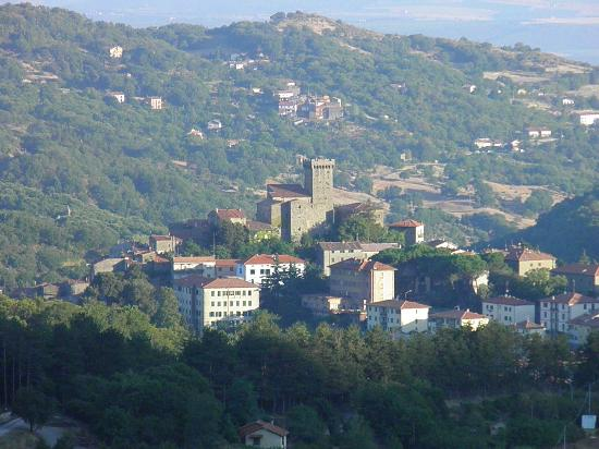 Appartamenti Vacanza La Meridiana: La vista dal terrazzo