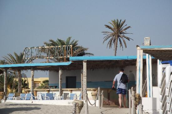 Hacienda les 4 saisons: beach bar