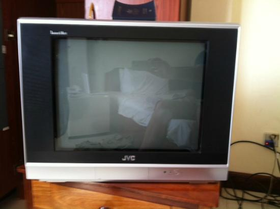 "A ""Television"" For Watching Programs @ Seng Hout Hotel"