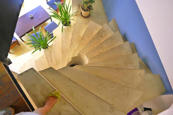 The Purple Mangosteen: The stairs
