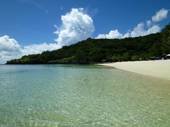 Palau Pacific Resort: プライベートビーチ