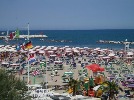 Hotel Resort Marinella : Spiaggia Gabicce