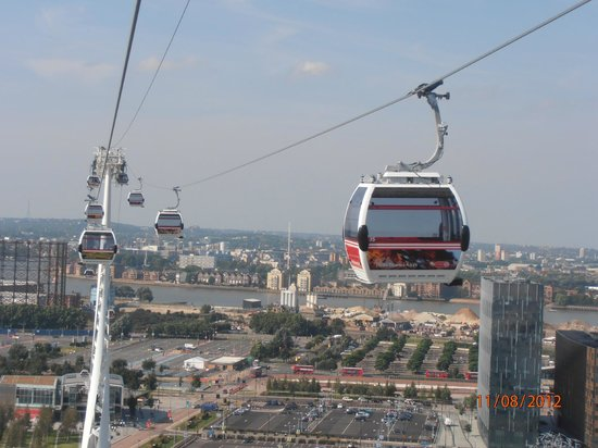 View from Emirates AirLine - Picture of Emirates Air Line