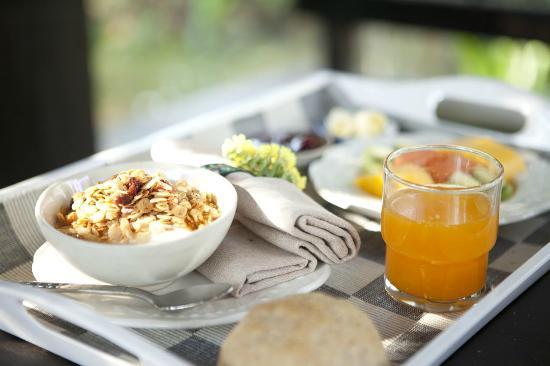 Rangsit Villas: Breakfast