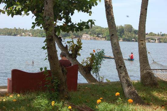 the outer view from ashtamudi villas