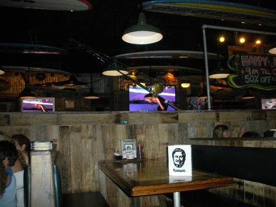 Flanigan's Seafood Bar & Grill: Booth