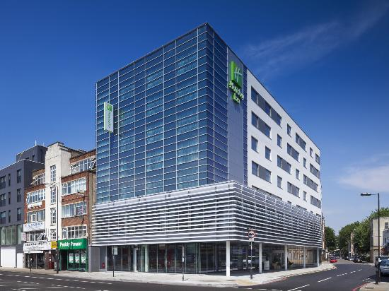 Hotel exterior picture of holiday inn london for Best modern hotels in london