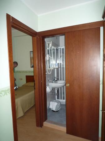 Hotel Terminus & Plaza : Hall de la chambre