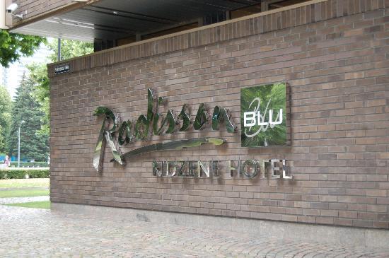 Radisson Blu Ridzene Hotel: hotel