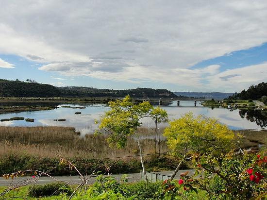 Knysna Riverside Lodge: View from the lodge