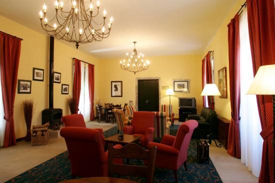 Hotel Monasterio de Aciveiro: Salon