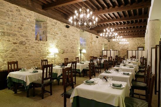 Hotel Monasterio de Aciveiro: Restaurant