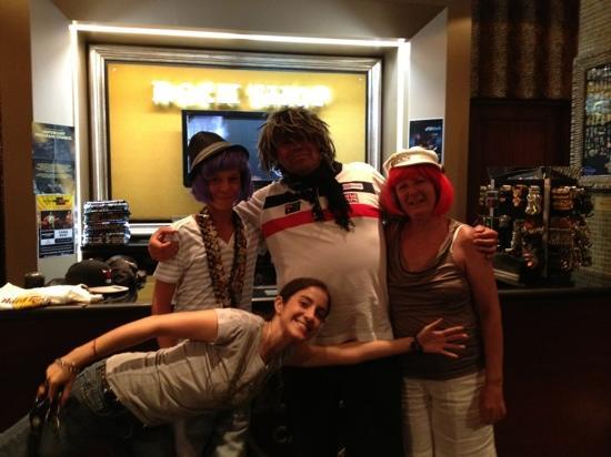 Hard Rock Cafe Punta Cana: thanks to Raquel & Karina - your both so funny