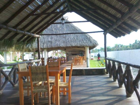 Hotel Barraco: Comedor, muy buena cocinera, es de la localidad cercana