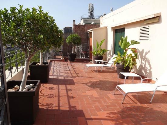 Hotel Montecarlo Barcelona: Solarium