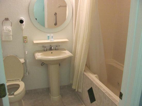 "Star Island Resort and Club: Small bathroom inside the ""A"" unit"