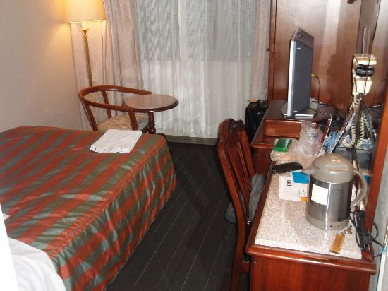 Hotel Claiton Shinosaka: 客室
