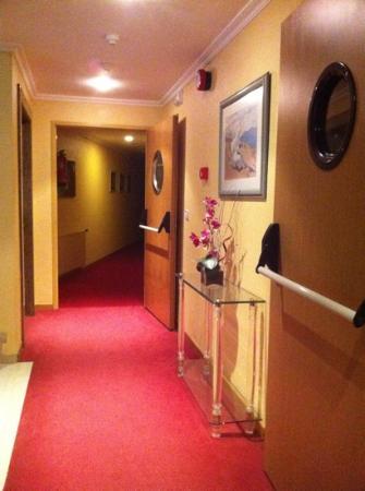 Hotel Maruxia: Pasillos